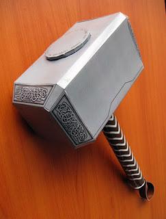 Thor Hammer Papercraft Free