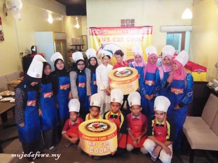 kids can cook, makanan kanak kanak mudah, ayam brand