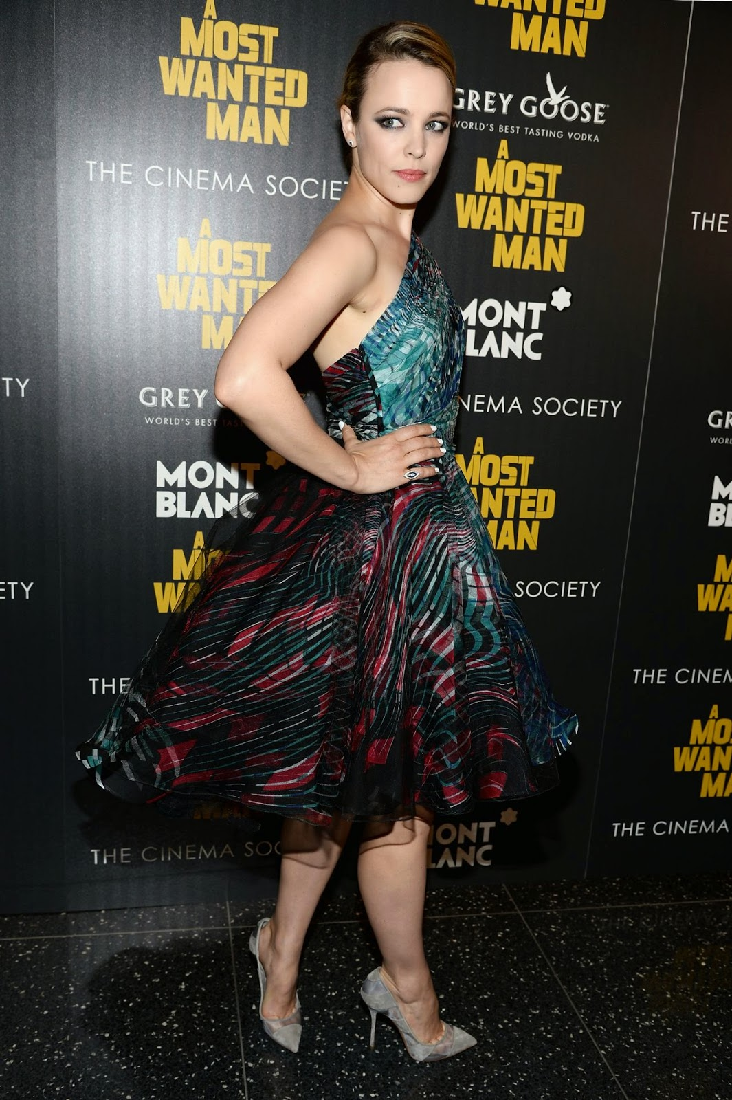Rachel McAdams in Zuhair Murad Couture at the 'A Most Wanted Man' NY Premiere