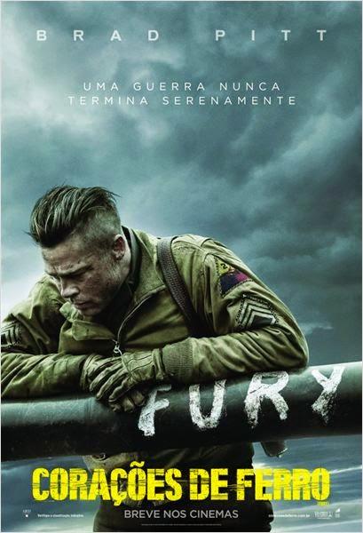 """Poster do filme """"Corações de Ferro"""""""