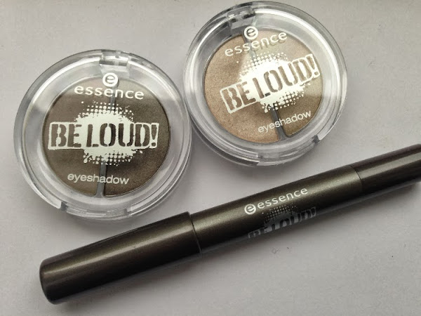Essence Be Loud Eyeshadow & Jumbo Eye Pencil.
