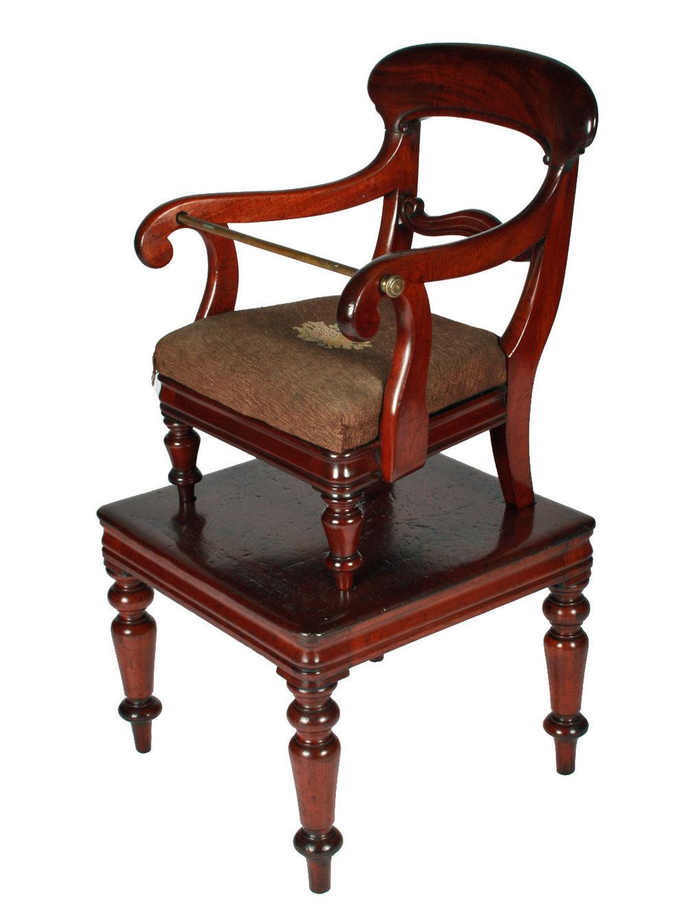 Graham Smith Antiques - Graham Smith Antiques: Victorian High Chair
