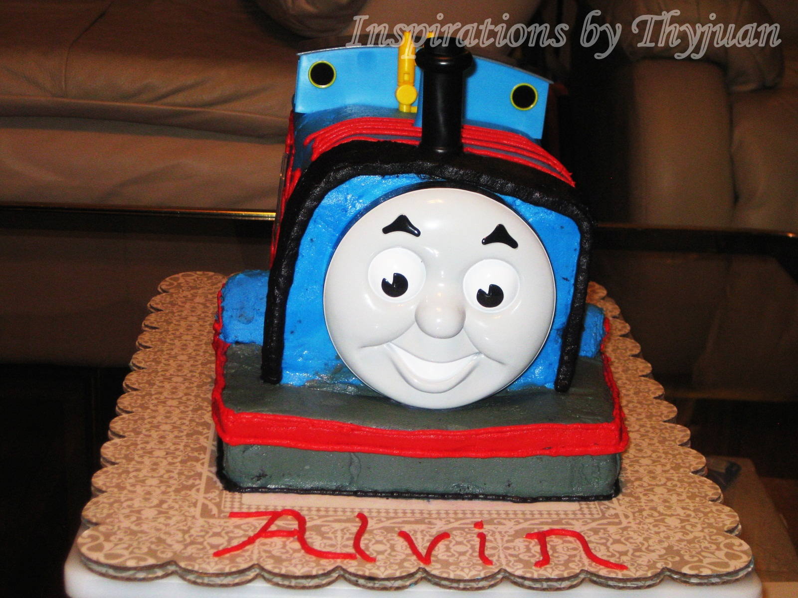 Cake Images Of Thomas The Train : Inspirations by Thyjuan LLC.: Thomas The Train 3-D Cake