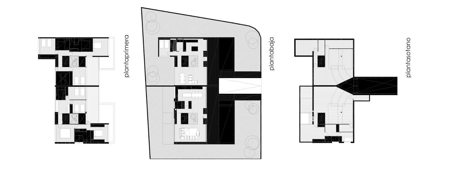 Planos de casas con fachada minimalista antonio for Casas minimalistas planos