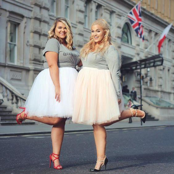 Moda al día: faldas para mujeres gorditas y bellas