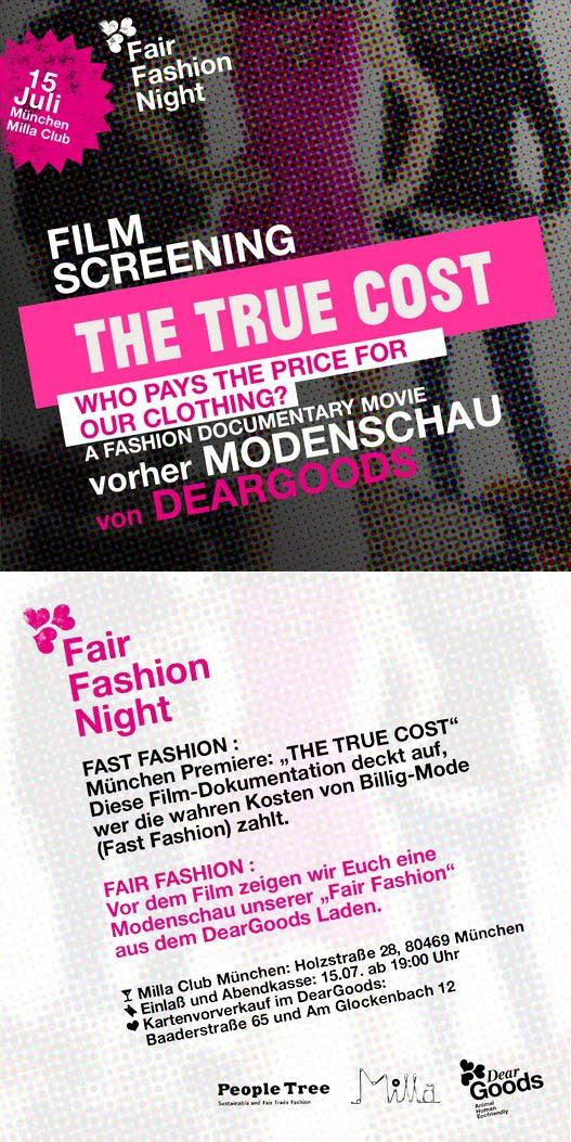 Fair Fashion Night am 15.07. im Milla
