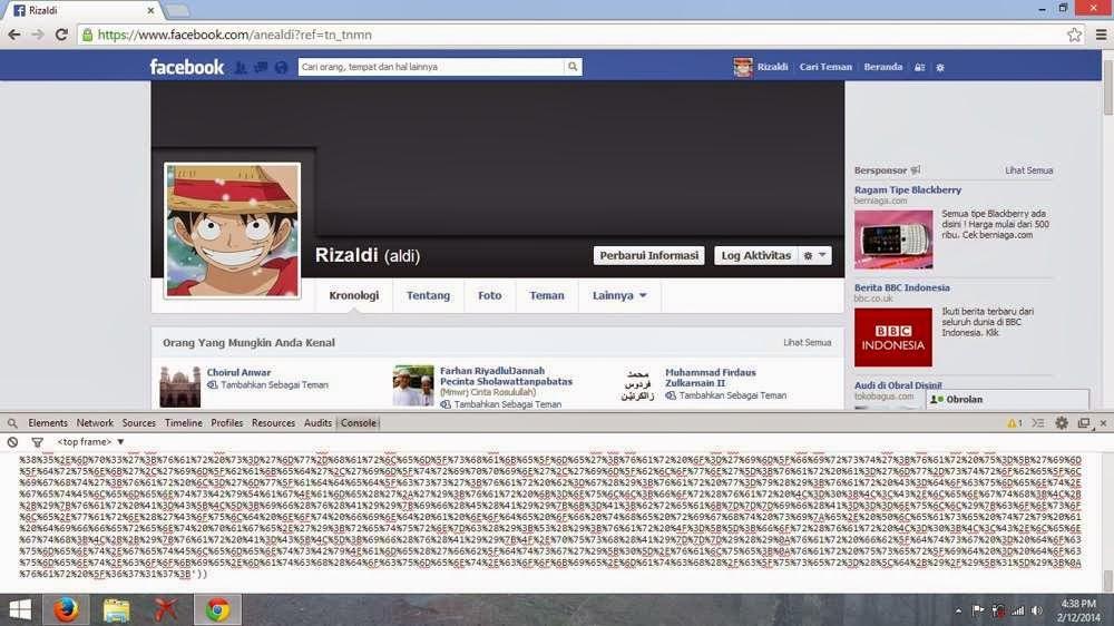 Cara Mengganti Tampilan Facebook 2014 (Theme)