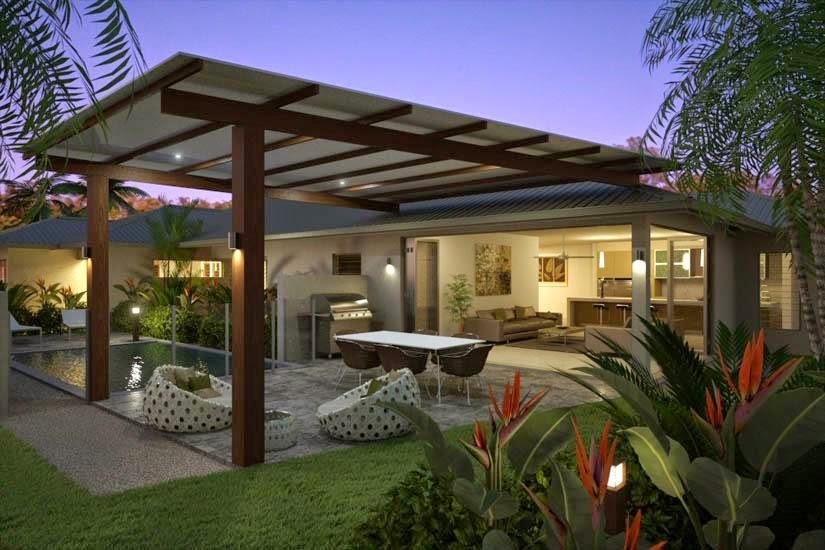 eksterior rumah minimalis type 36 modern 1 dan 2 lantai - Desain Rumah