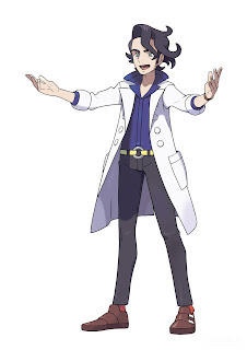 Profesor Sycamore Pokemon X Pokemon Y