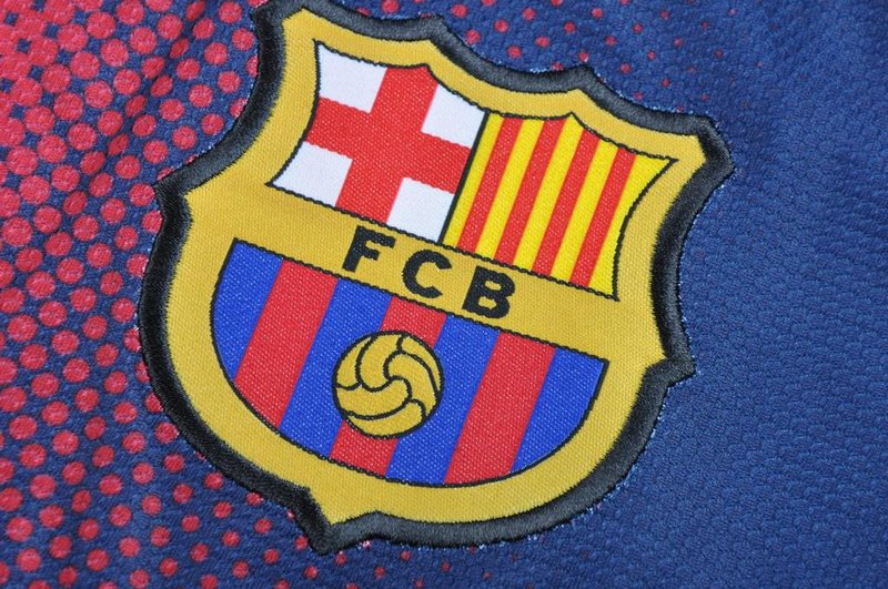 jersey barcelona home bordiran mantap