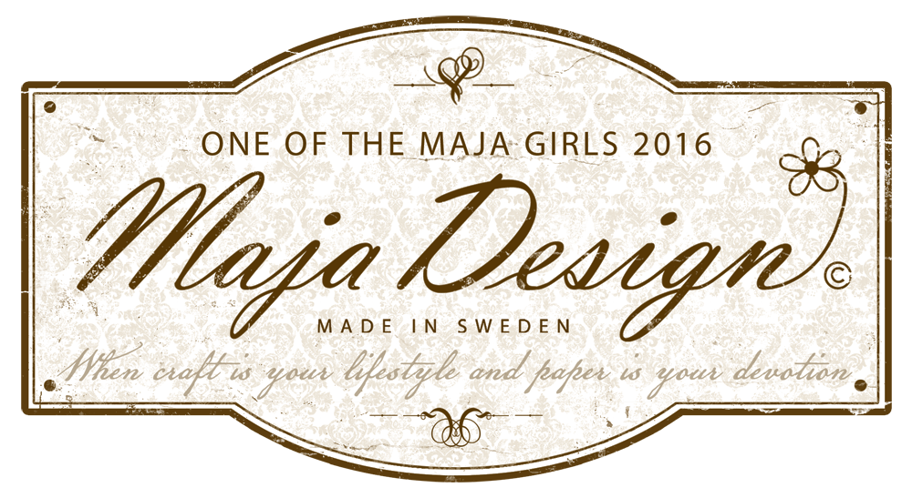 I'm thrilled to be a member of the 2016 Maja Creative Team!