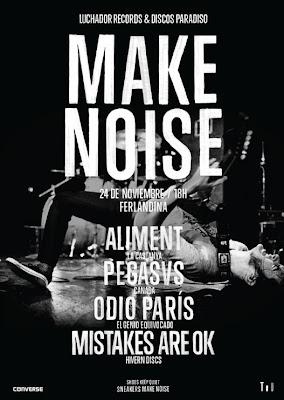 Make Noise Converse Barcelona Underground