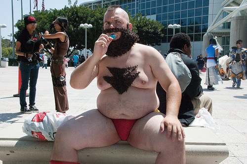 Zangief cosplay streetfighter