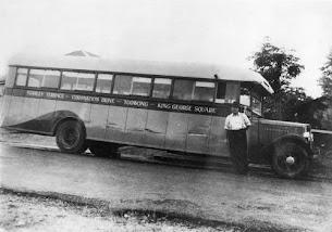 Toowong bus - 1936
