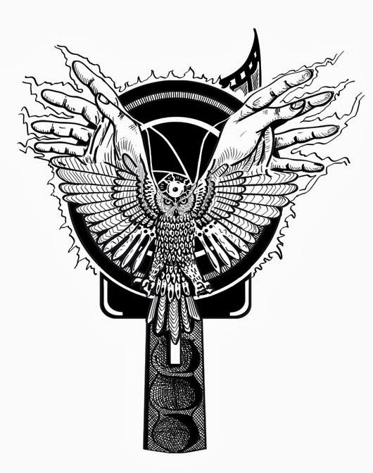 El tercer ojo y el búho, las hélices, las manos y la lente