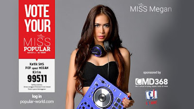 MISS POPULAR 2015 : DJ Megan