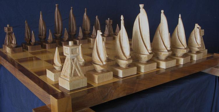 15 Cool and Unusual Chess Sets - Part 2.