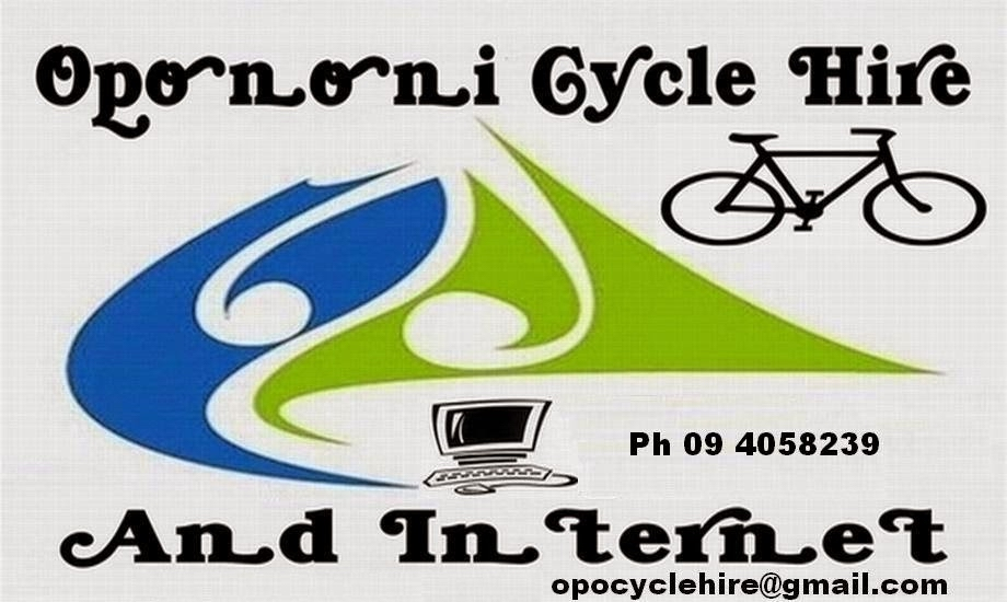 Opononi Cycle Hire and Internet