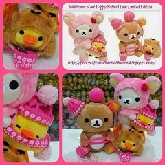 (INSTOCK RILAKKUMA & TORI DESIGN) 2013 OCT12th LE  Happy Natural Time Set