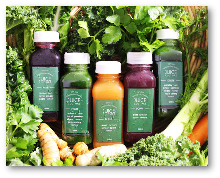 CLEANSING JUICES