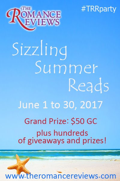 The Romance Reviews is Having a Sizzling Summer Reads Party in June!