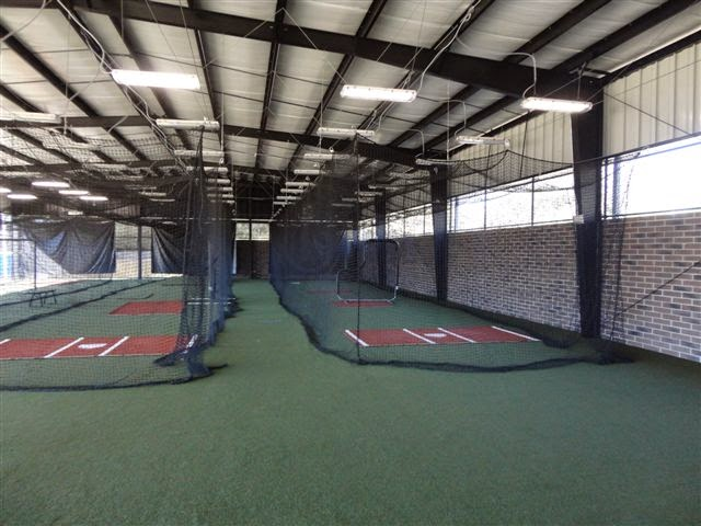 Indoor baseball batting cages trending baseball for Indoor facility design