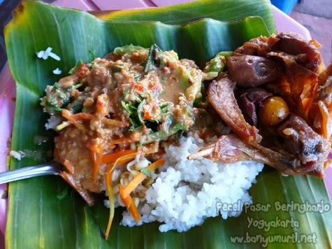 Kuliner Jogja - Pecel Pasar Beringharjo