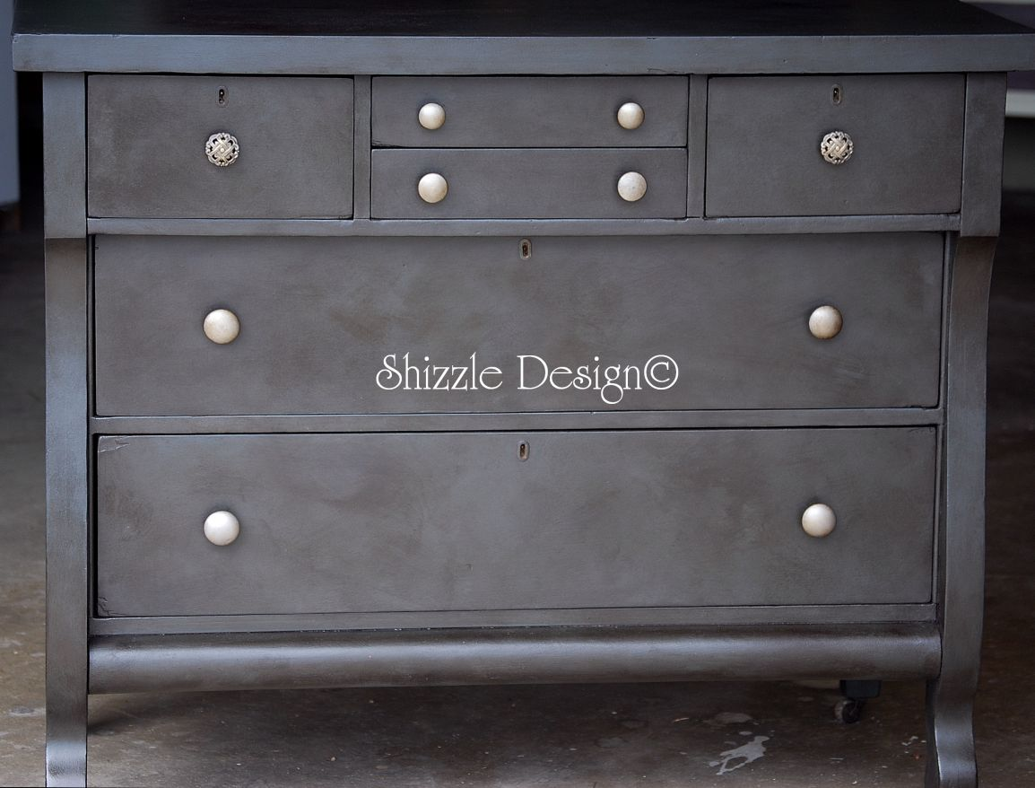 Annie Sloan Chalk Paint Hallway Tables