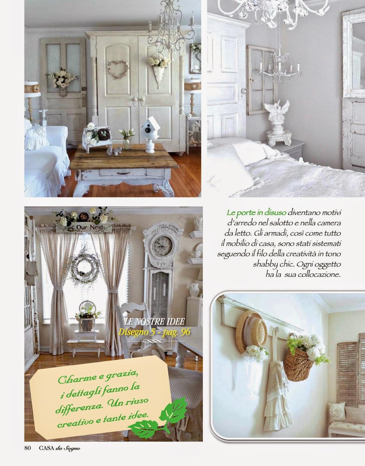Junk chic cottage casa da sogno feature - Casa da sogno biancheria ...