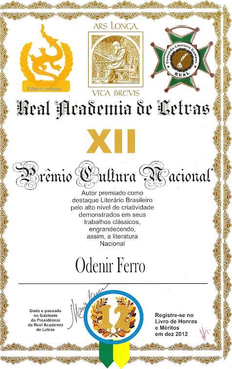 XII PRÊMIO CULTURA NACIONAL