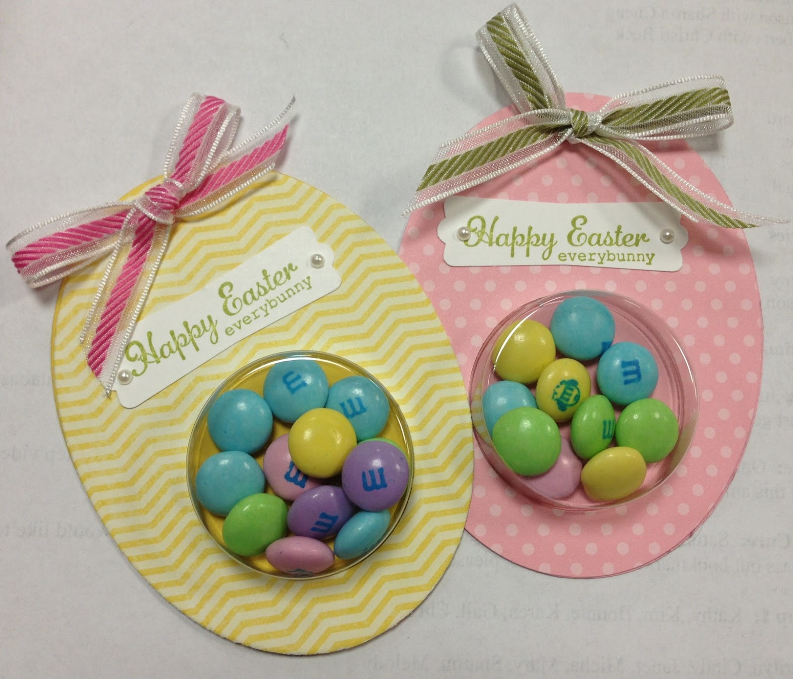 Stampintx more easter ideas to inspire how quick and simple wouldnt these make great little gifts to hand out to your friends co workers and neighbors negle