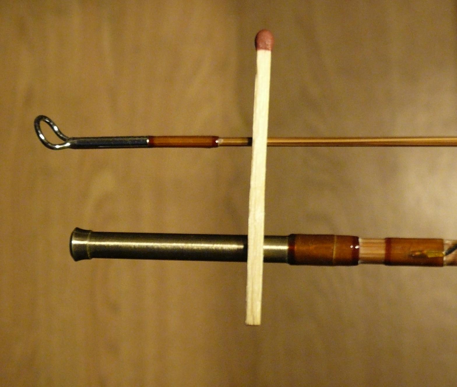 Tying and fishing tiny flies stradivarius split cane fly for Tiny fishing pole
