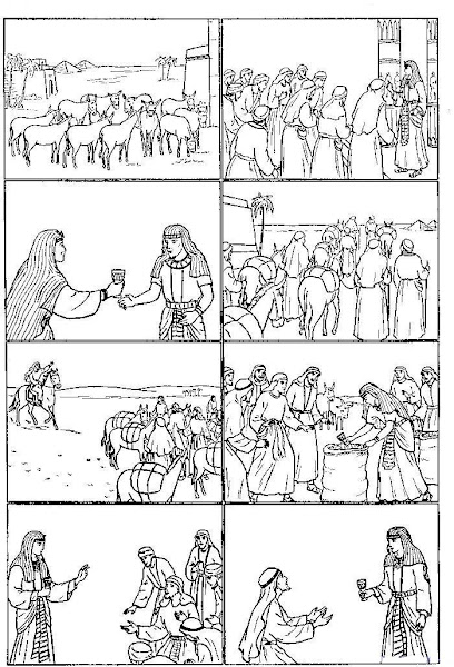Joseph of Egypt Coloring Pages Activities