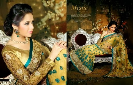 Royal Golden Saree Collection