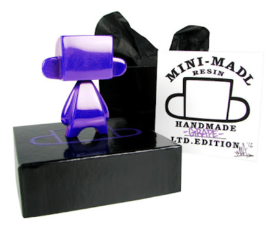 Grape Edition Resin Mini Mad'l by MAD