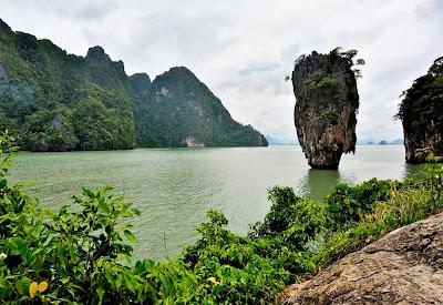 Ilhota Ko Tapu - Tailândia