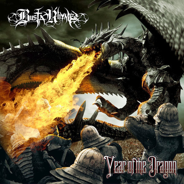 Busta Rhymes - Year of the Dragon  Cover