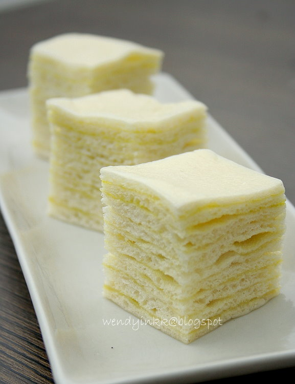 Steam Cake Recipes Pictures : Table for 2.... or more: Layered Kaya Steamed Cake ...