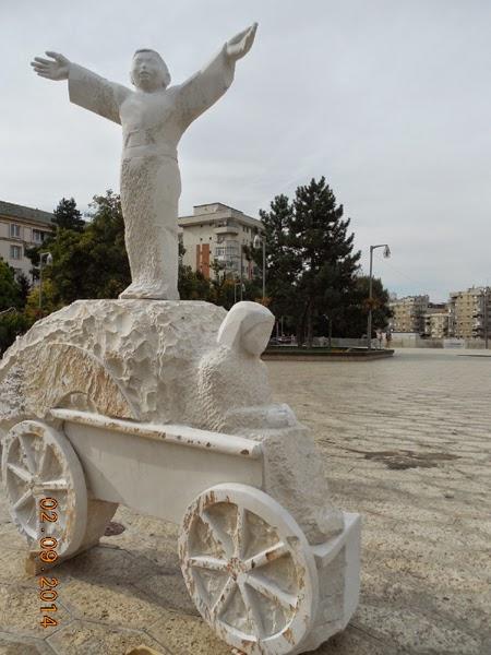 Craiova vazuta din car, de Paul I. Popescu
