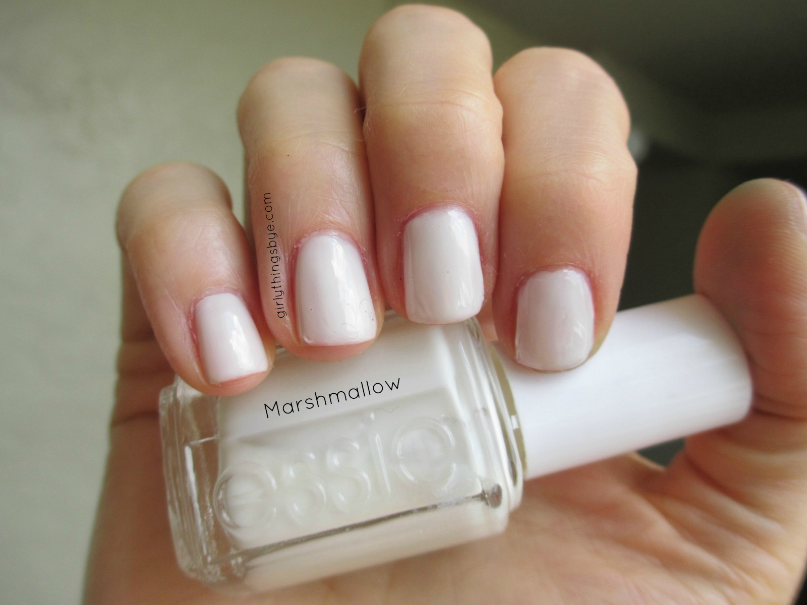 Manicure Monday: Marshmallow & 24/7 | @girlythingsby_e | Beauty Chit ...