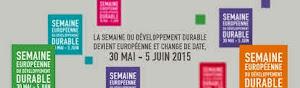 Bientôt la semaine européenne du Développement Durable