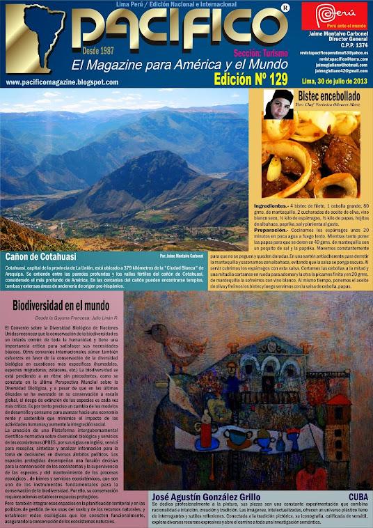 Revista Pacífico Nº 129 Turismo