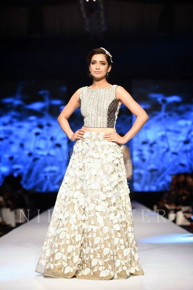 Nida Azwer TPFW long summer dresses 2015