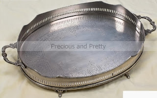 Vintage style wedding tray from Greece