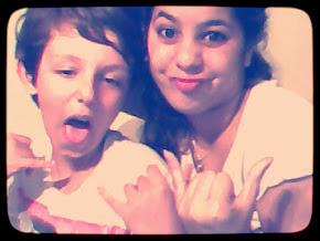 a veces sos insportable pero te amo hermanito♥