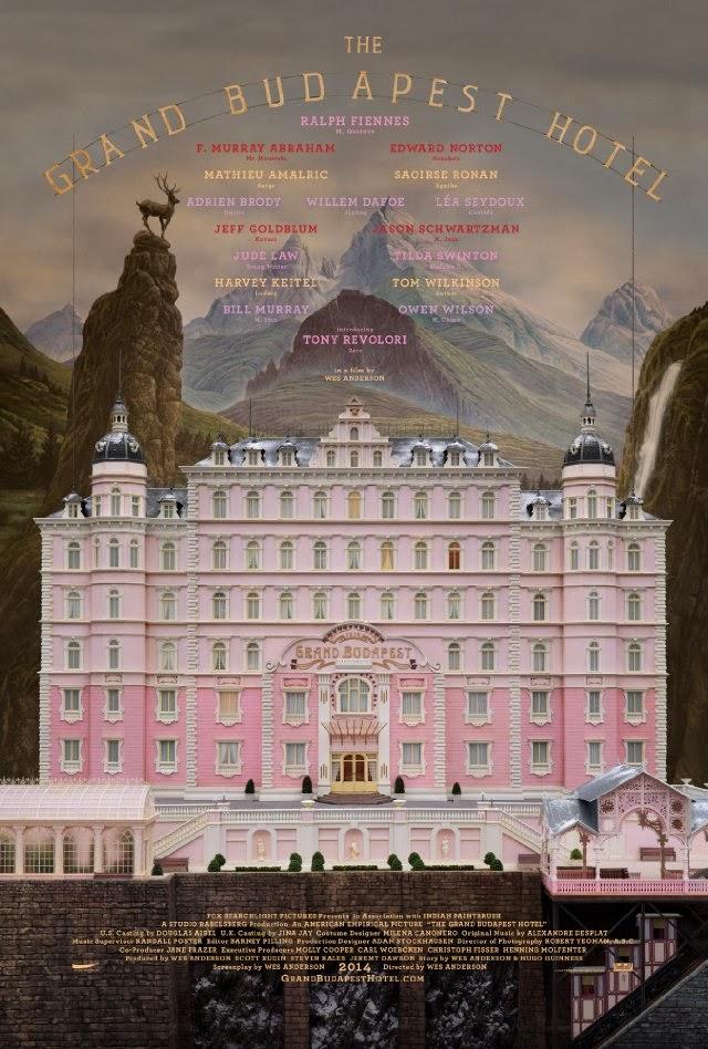 La película The Grand Budapest Hotel