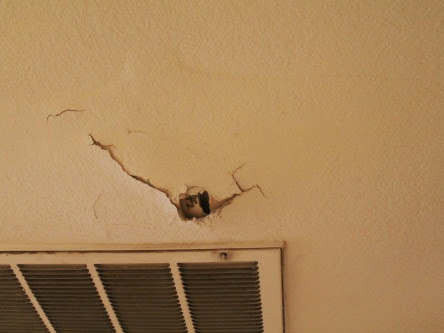 Drywall Repair…Finally!