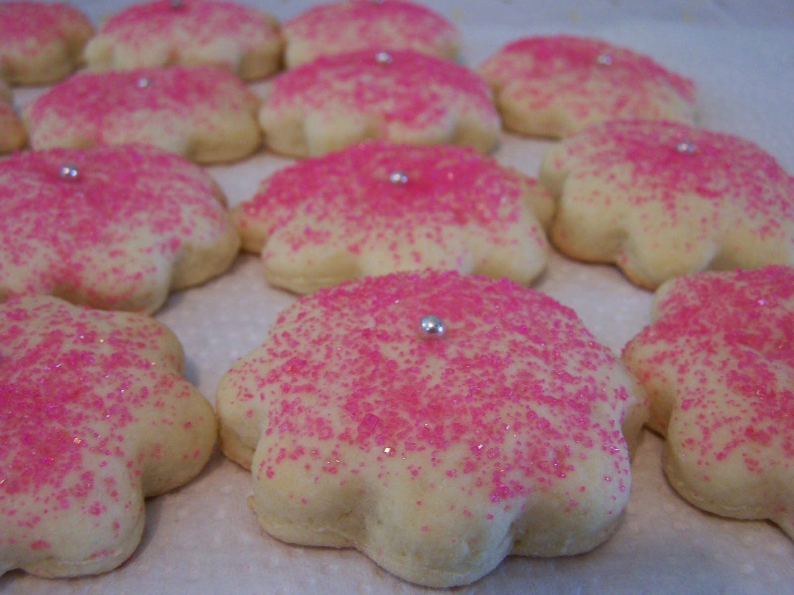My mom's sugar Cookies, so light and fluffy.