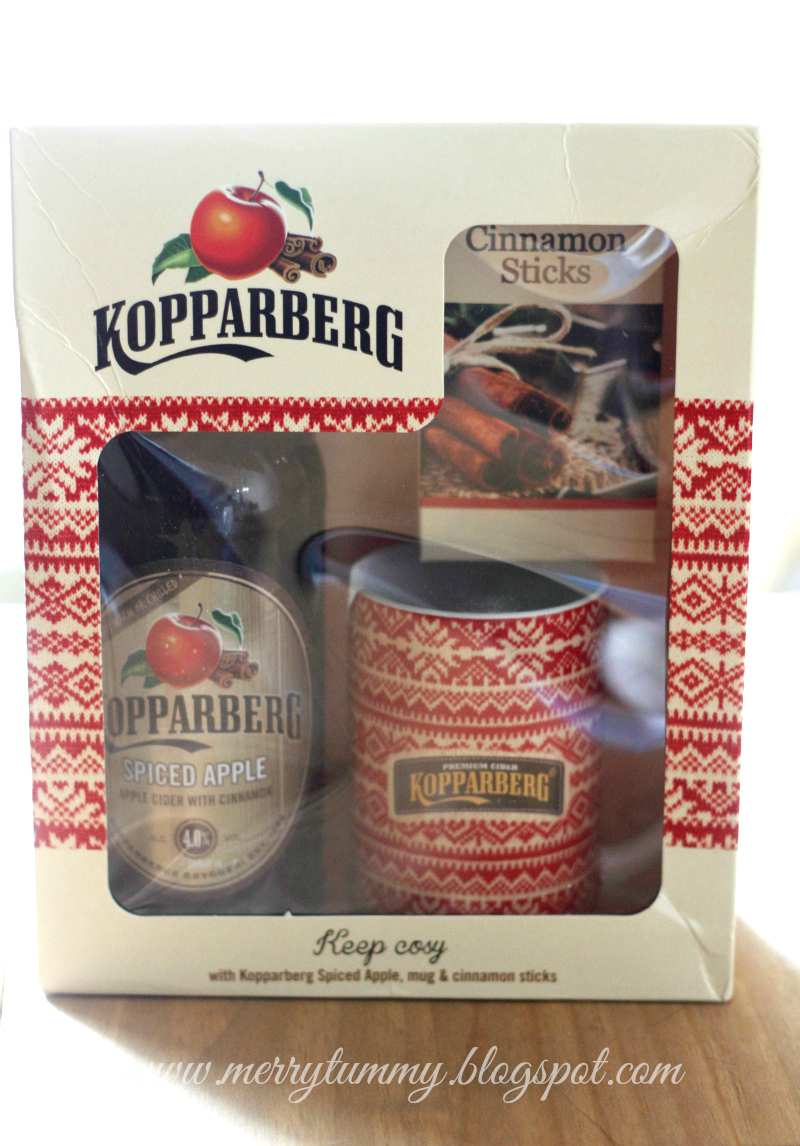 Merry Tummy: Kopparberg\'s Spiced Apple Gift Pack Review: Christmas ...