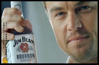 Leonardo DiCaprio & Bourbon Jim Beam